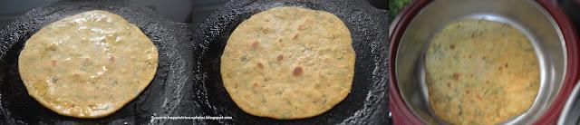 Step 5 how to make Masala Paratha