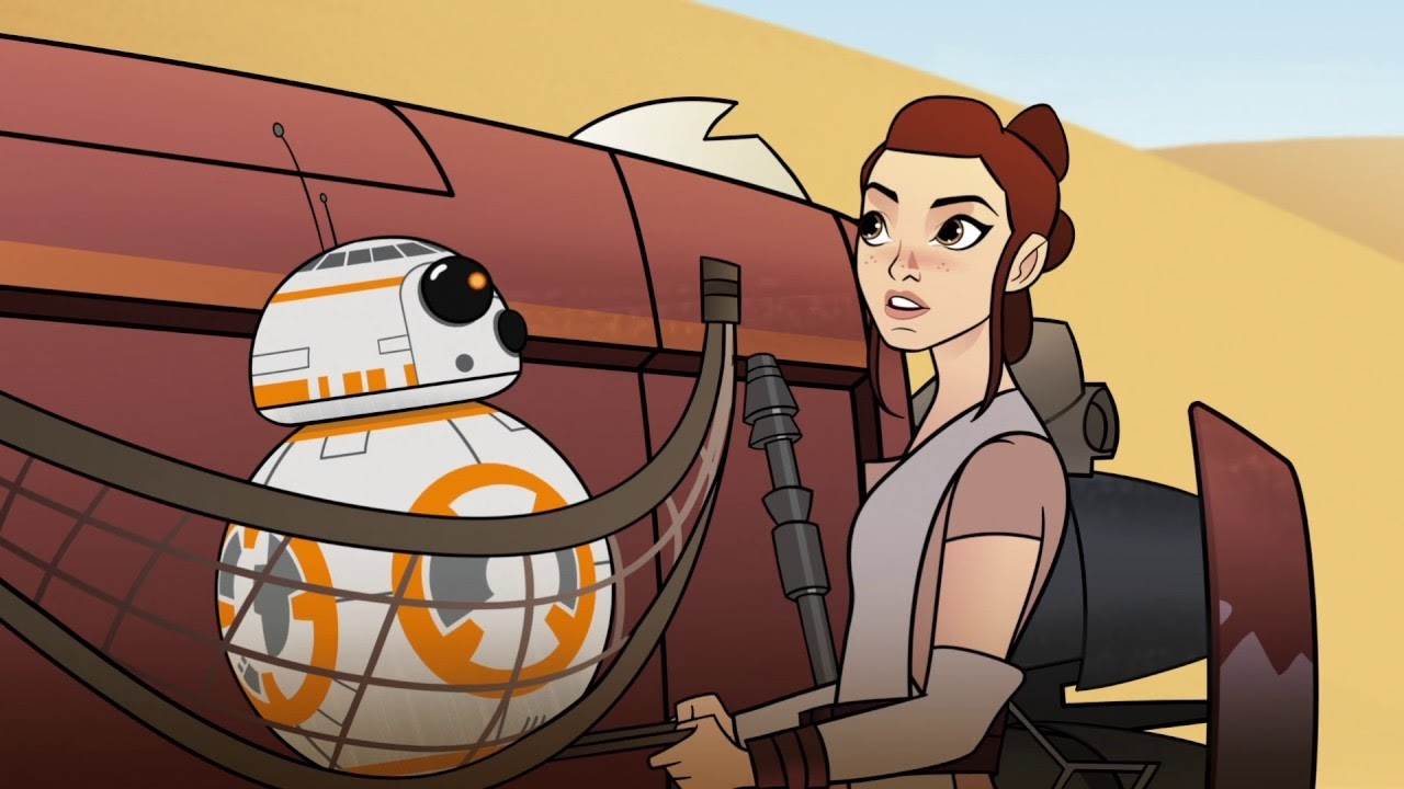 bb-8 bandits : star wars forces of destiny :「スター・ウォーズ」の
