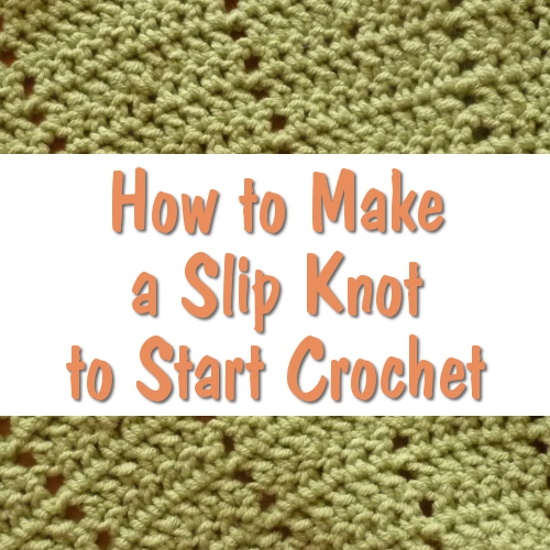 How to Tie a Slip Knot for Crochet Step by Step Photo Tutorial Ideal for Beginners Crocheting Yarn Craft CraftyMarie