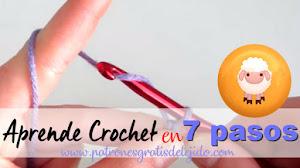 Cómo Aprender Crochet Fácil en 7 Pasos / Para Principiantes