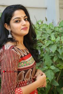 Telugu Actress Nikhila Vimal Latest Stills in Anarkali Dress  0138.JPG