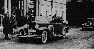 Polska przedwojenna limuzyna