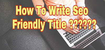 How to create seo optitimize title