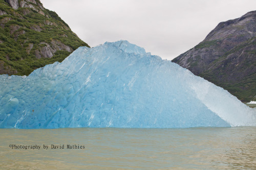 ice-blue glaciers