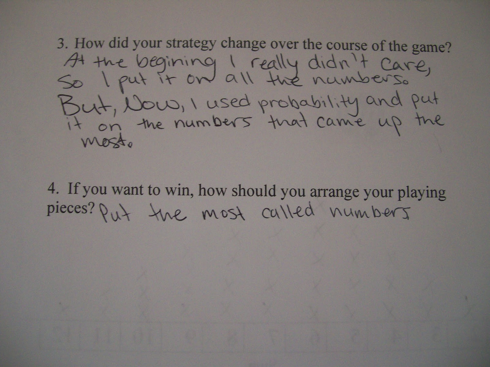 Math Love The Probability Game Without A Name