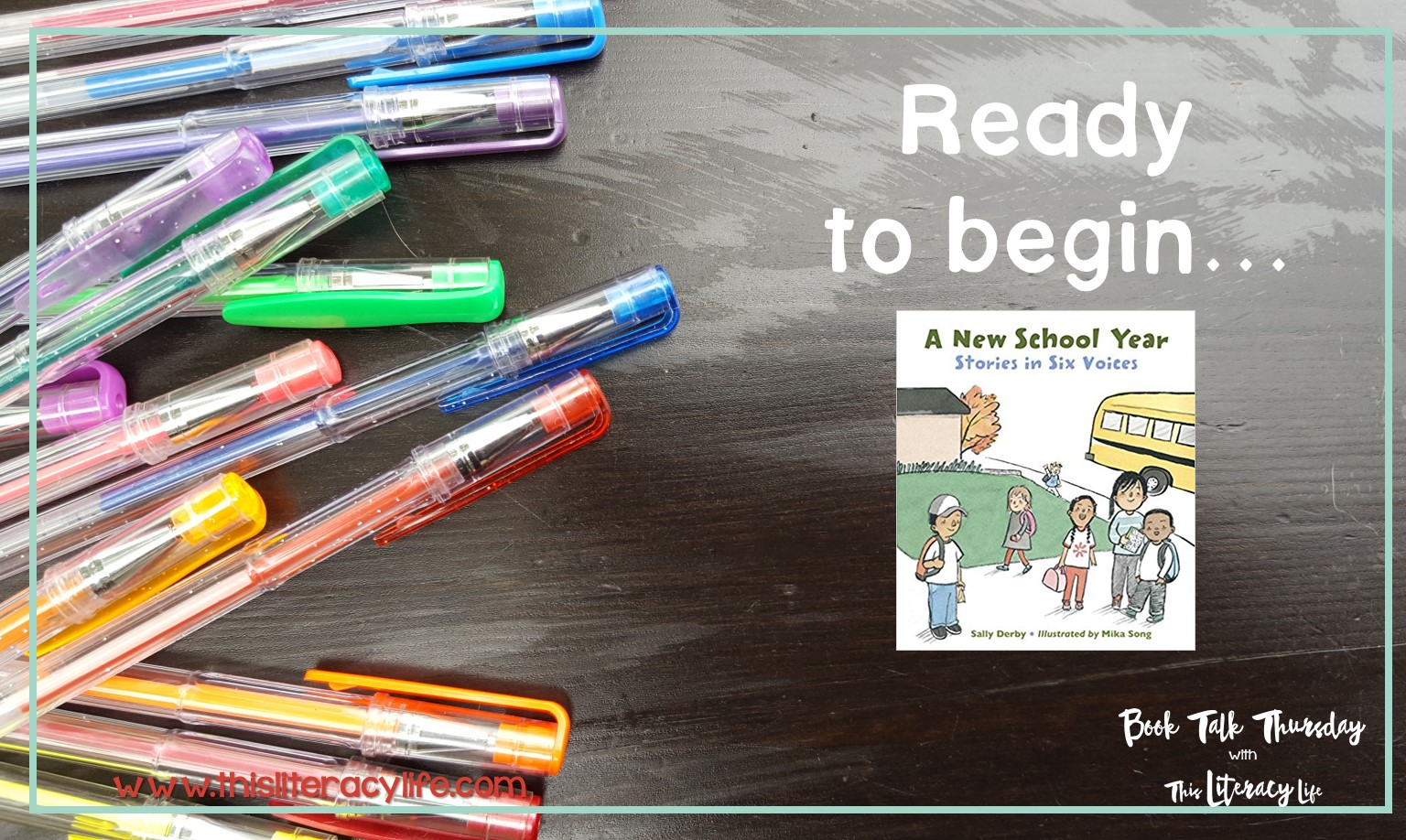 Starting a new school year can be tough for many students. The Book A New School Year will help many students get through their first day of school.