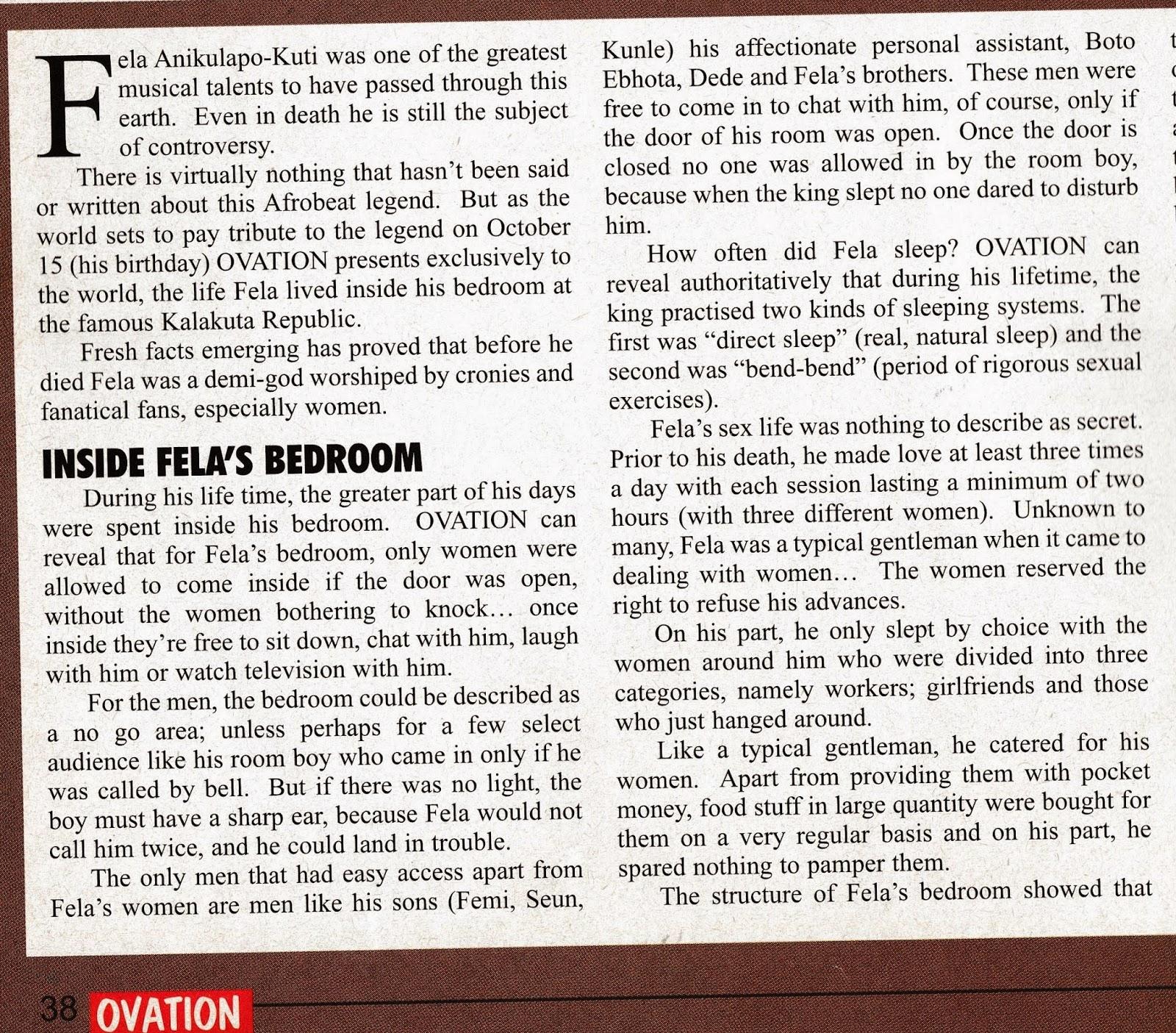 Fela Kuti Special Inside His Bedroom Amp Very Rare Pics Queen