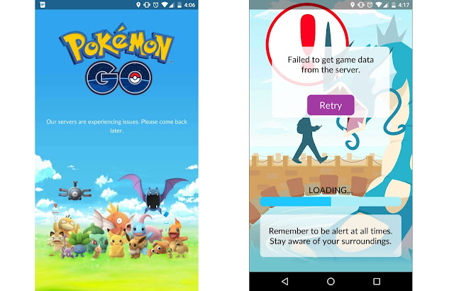 Pokémon Go Worldwide Rollout will Delay due to Overloading Server 1