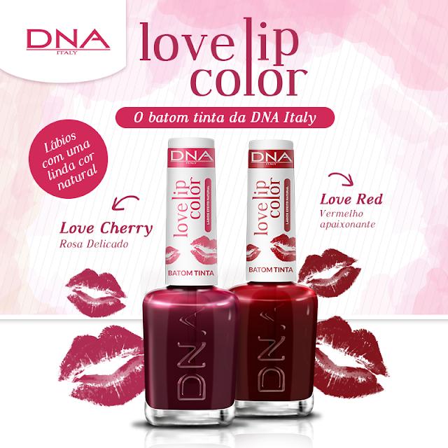 DNA ITALY - LOVE LIP COLOR BATOM TINTA
