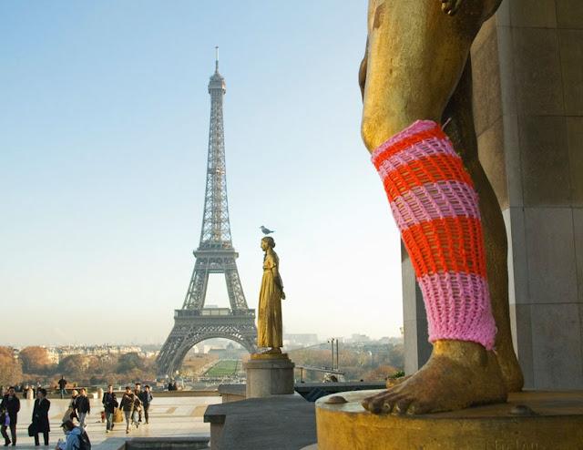 yarn bombing guerilla knitters