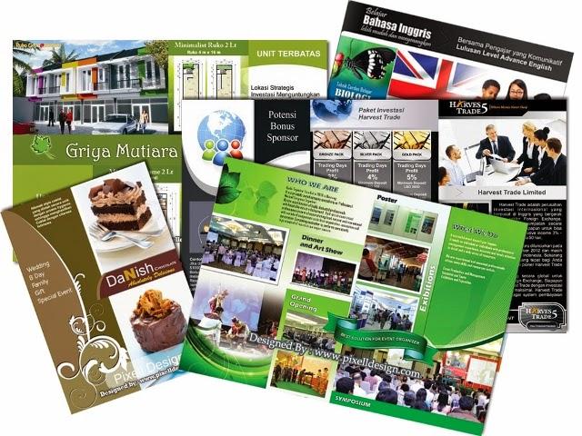 Contoh Brosur Menarik untuk Iklan Promosi Produk