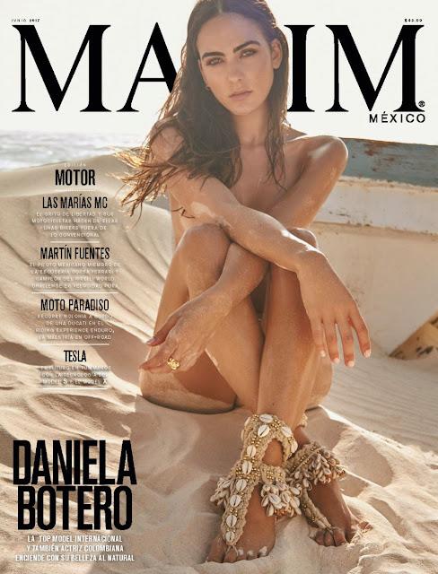 FOTOS: Daniela Botero - Maxim Junio 2017
