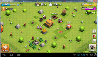 cara bermain Clash Of Clans di komputer