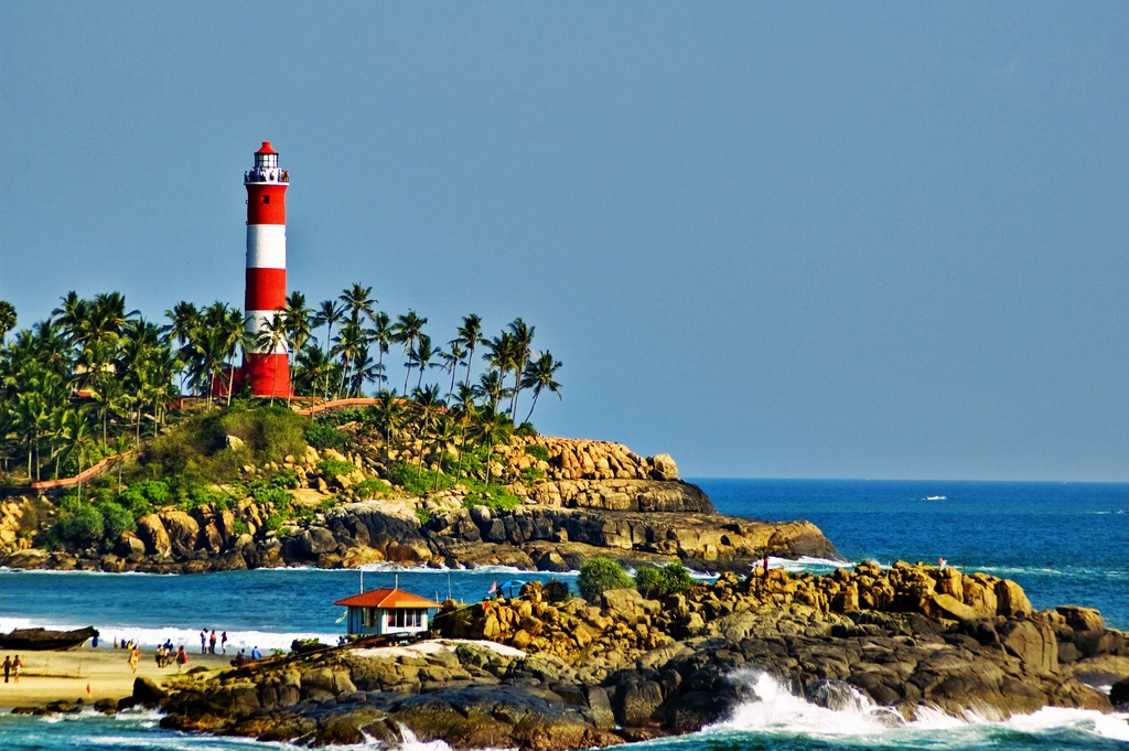 Lighthouse Beach, Kovalam
