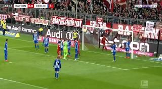 فيديو : بايرن ميونخ يفوز على هيرتا برلين بهدف نظيف السبت 23-02-2019 الدوري الالماني