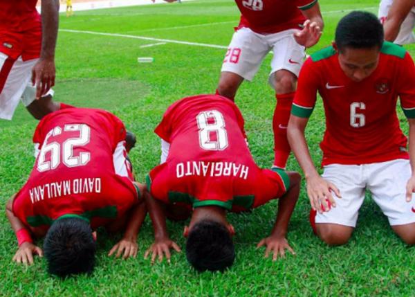 Waduh, Ada Keanehan di Jersey Timnas Indonesia U-22 SEA Games 2017