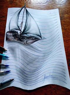 برازيـلي يبــدع في فـن رسم ثــلاثي الأبعــاد . 1459079506-3d-lines-