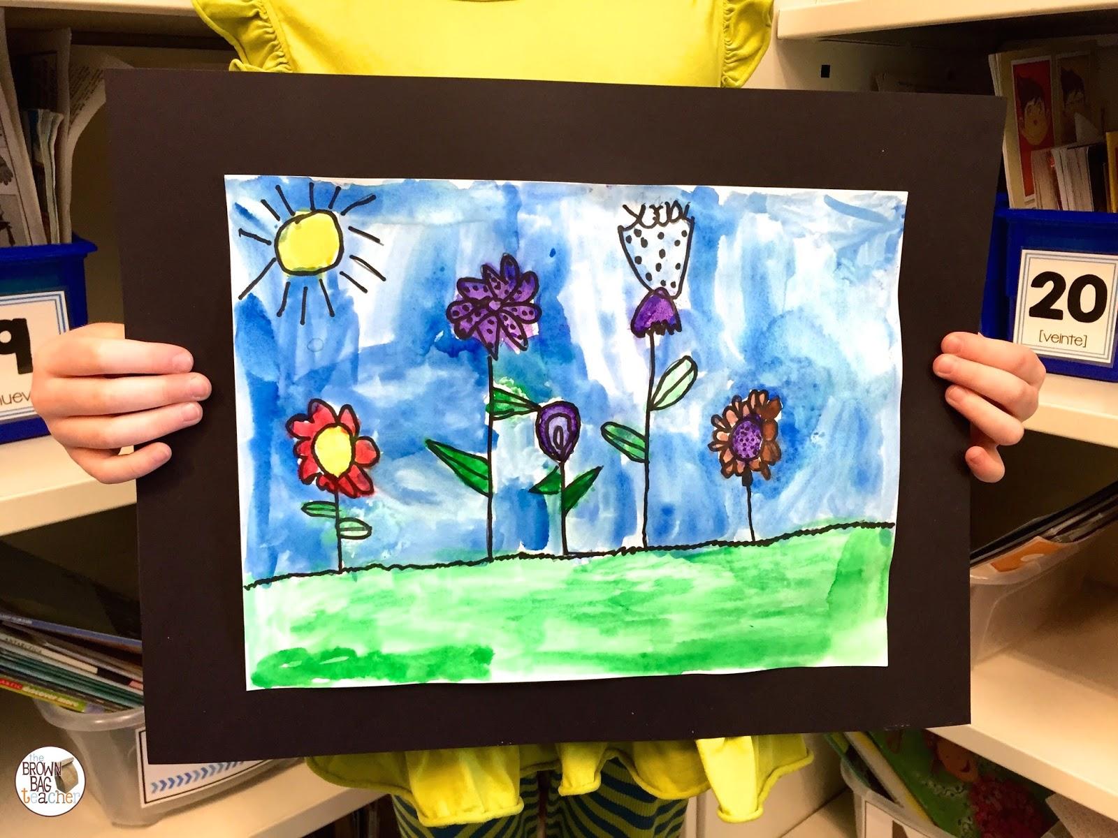 Mother's Day Ideas: 1st Grade - The Brown Bag Teacher