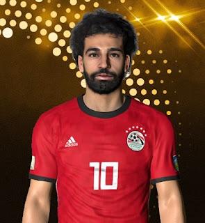 PES 2017 Faces Mo Salah by Ben Hussam FaceMaker