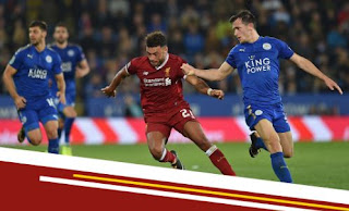 Leicester City vs Liverpool 2-0