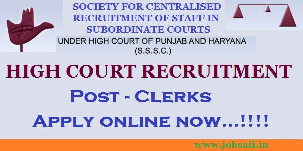 Clerk jobs, Govt jobs in Haryana, Jobs for graduates