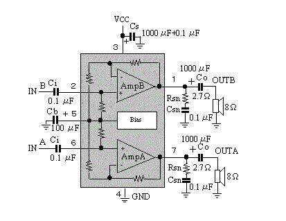 world technical: stereo audio amplifier capable of