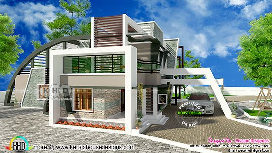 Ultra modern 4 bedroom unique contemporary home