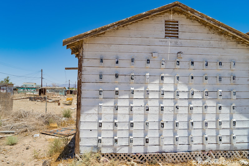 Missing Milk Carton House Art Bombay Beach Salton Sea Ghost Towns Photography