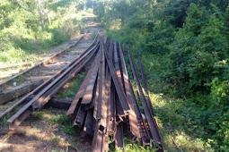 Polícia Civil de Maruim prende homens que furtavam trilhos de trem