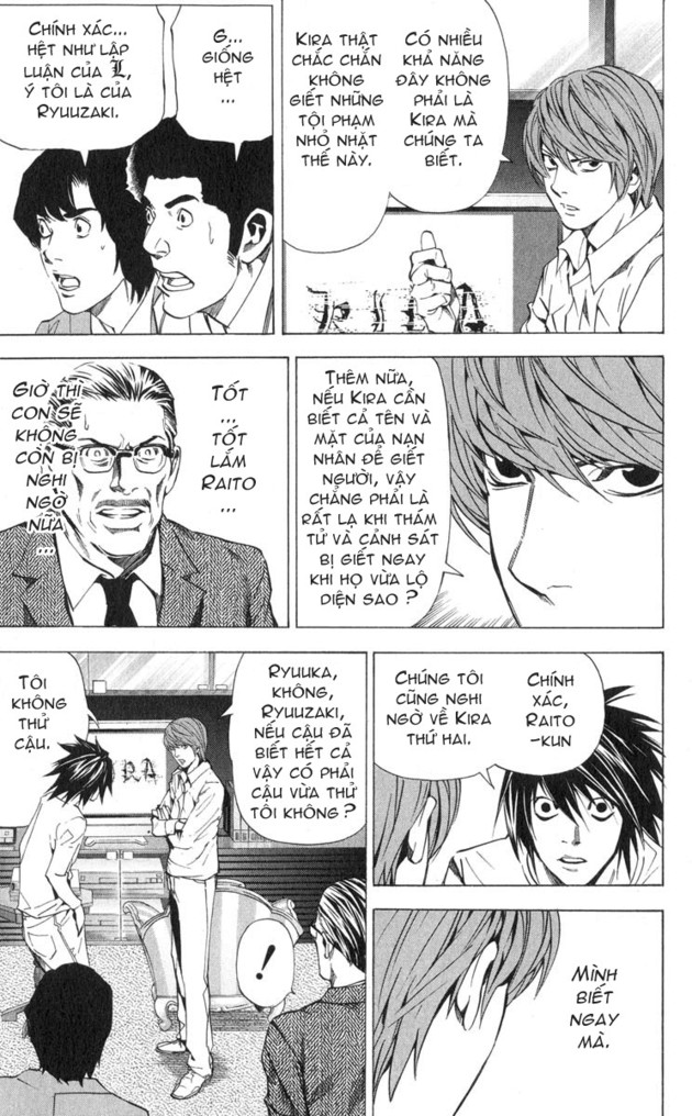 Death Note chapter 026 trang 15