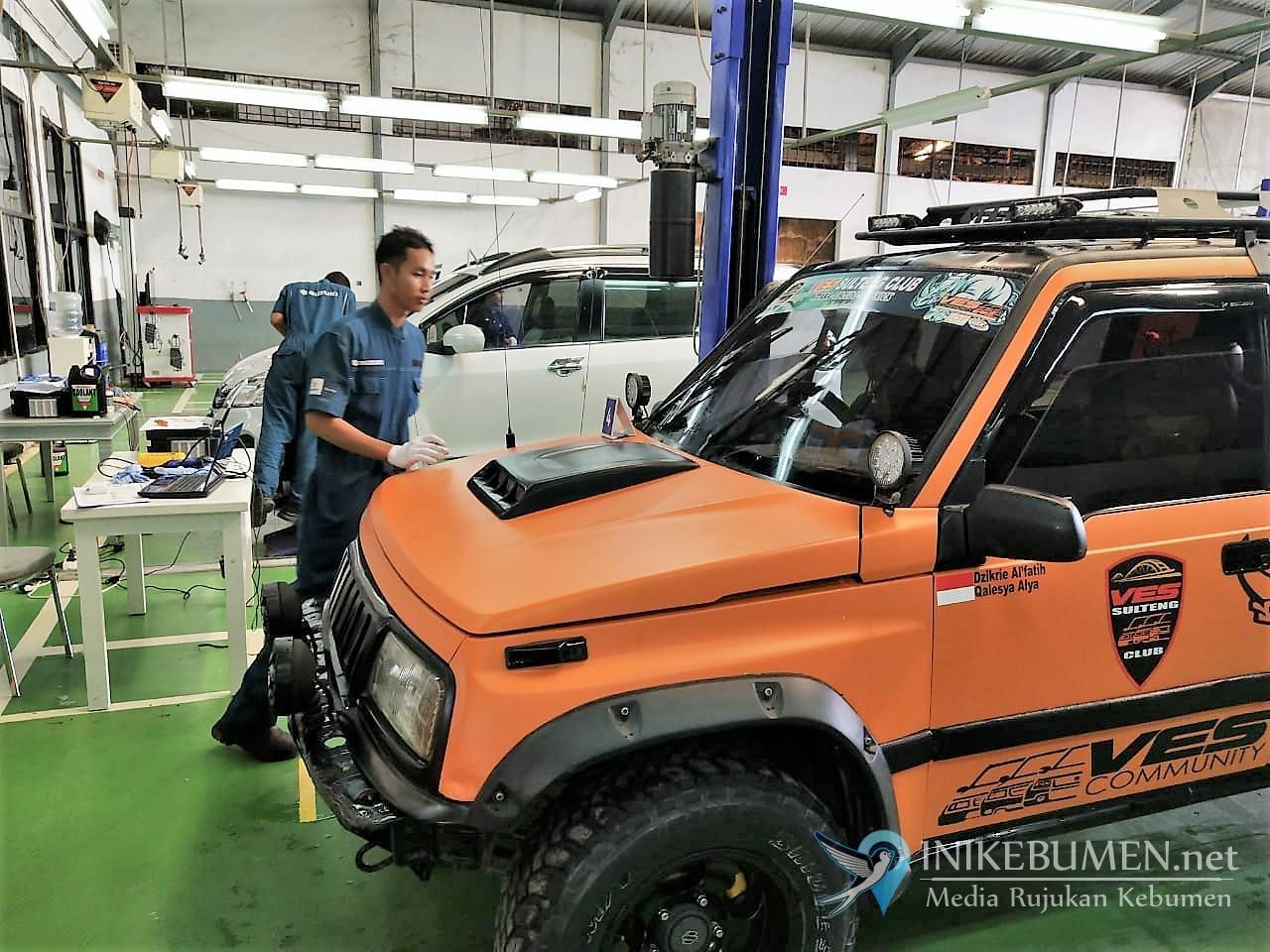 Lewat Suzuki Day, PT SIS Manjakan Pelanggan di Pondok Indah