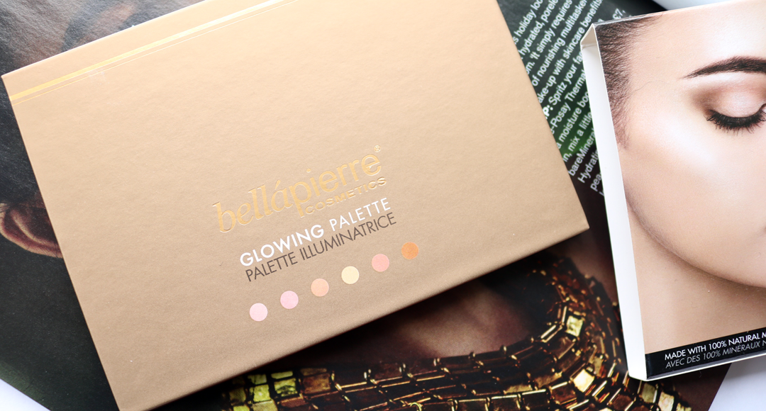 Bellapierre Glowing Palette - Review & Swatches