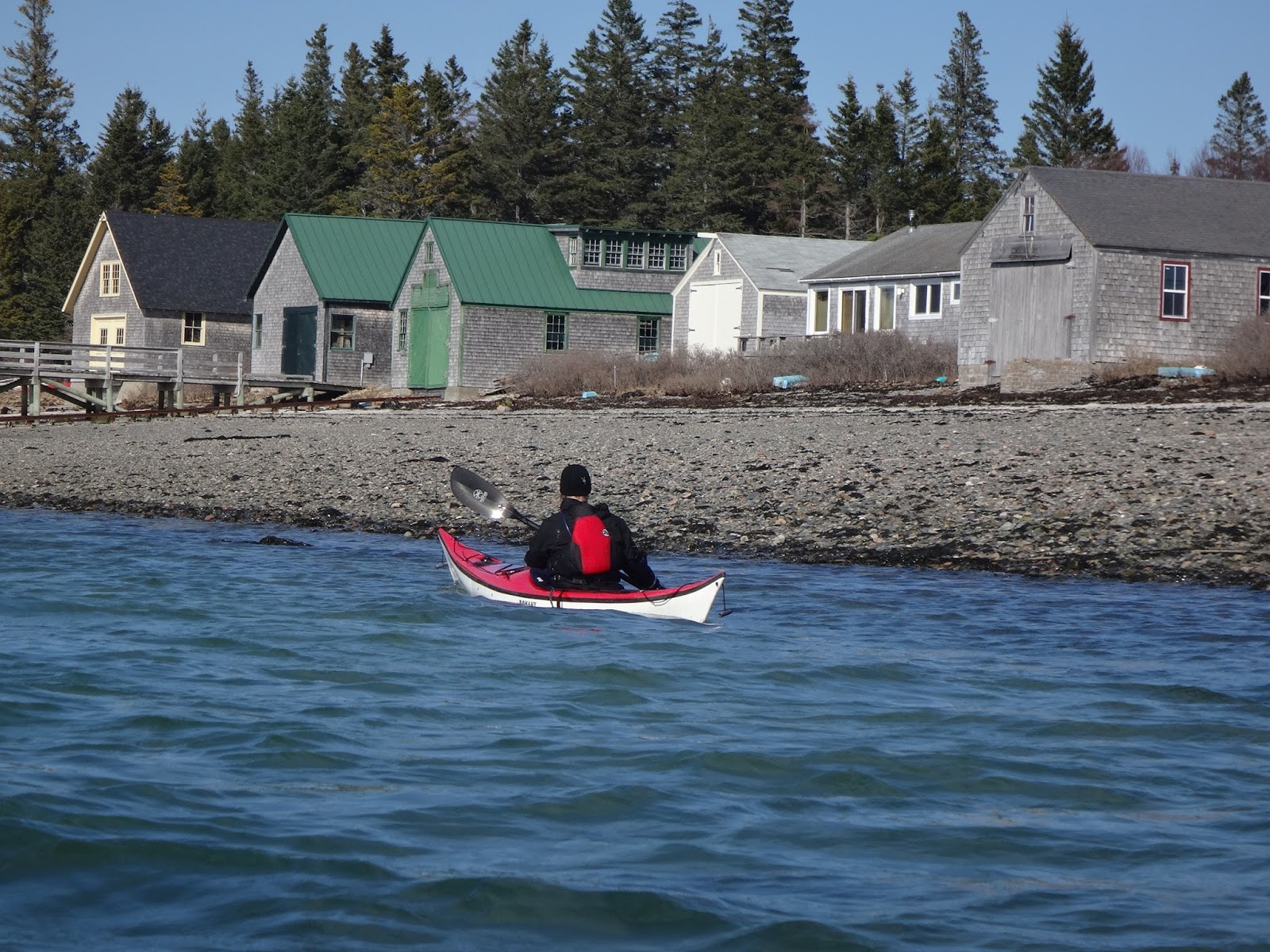 Sea Kayak Stonington The Cranberry Islands