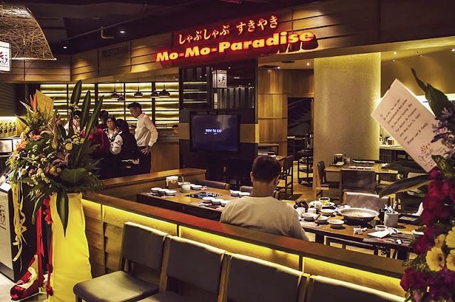 Dining Area Mo-Mo Paradise Malaysia At Lot 10 Bukit Bintang Kuala Lumpur