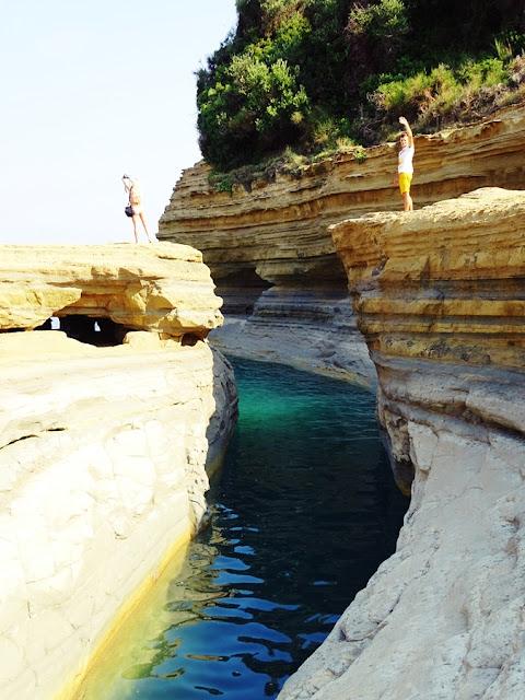 Co zobaczyć na Korfu - Kanał Miłości