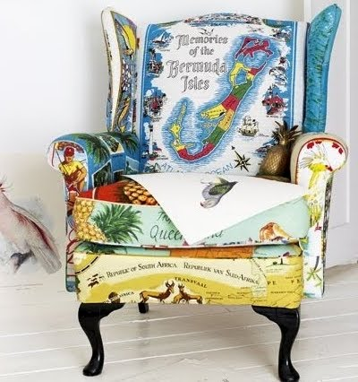 Upholstering a Chair Coastal Style How To  Upholstered