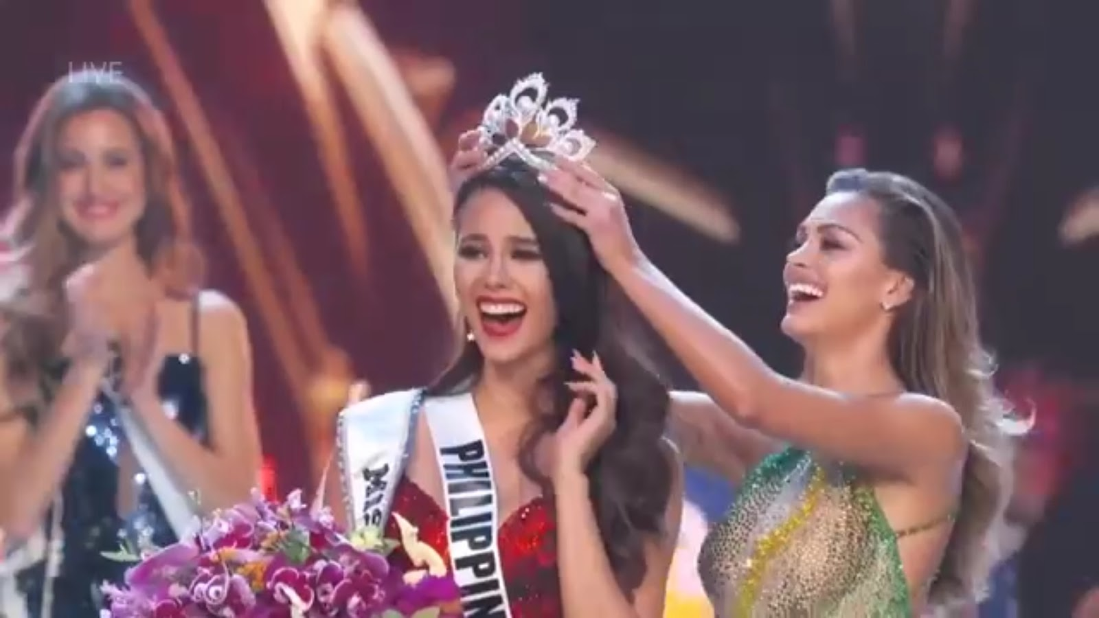 CATRIONA GRAY, MISS UNIVERSE 2018,