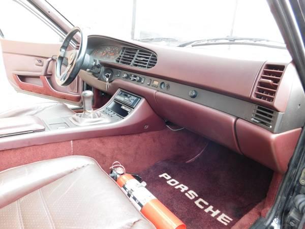 1986 Porsche 944 Turbo Black Buy Classic Volks