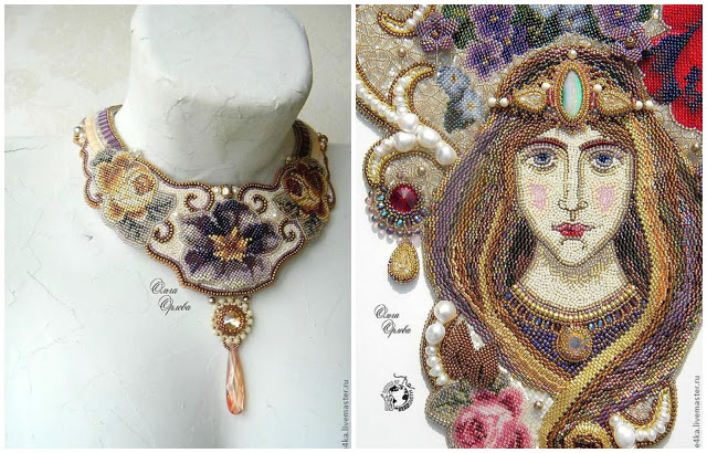 Olga Orlova Master Beadwork Artist