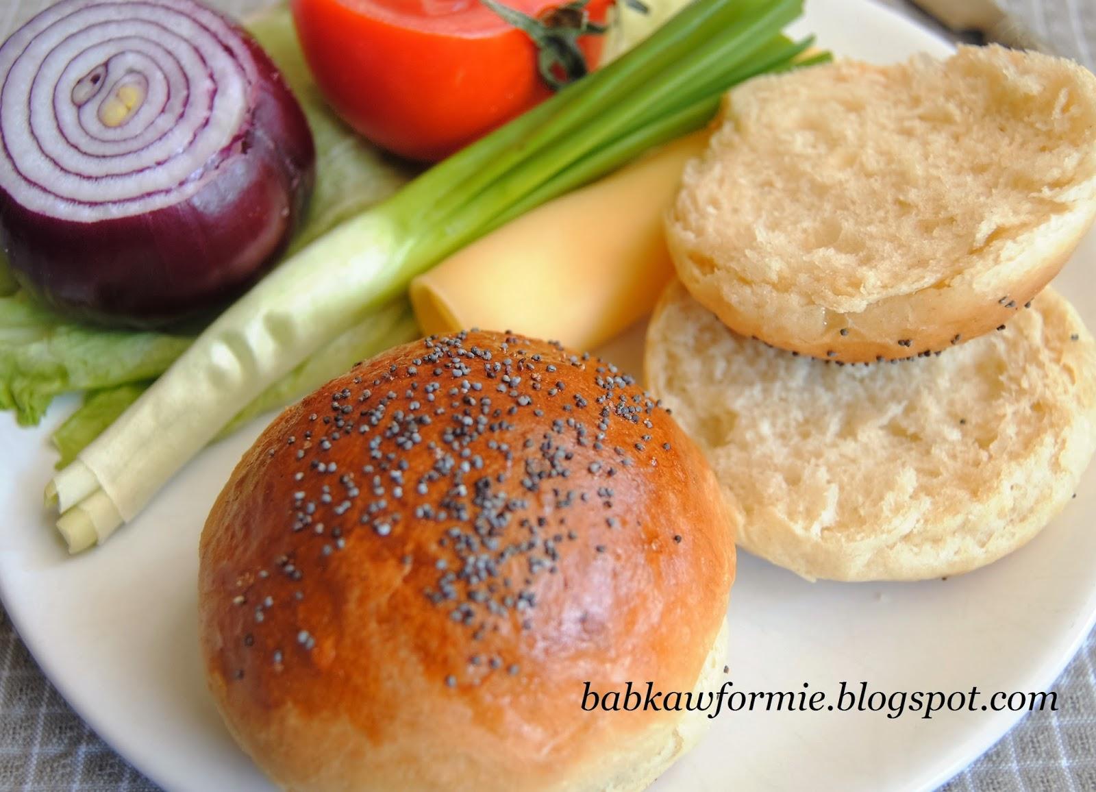 bułki mleczne maślane pszenne babkawformie.blogspot.com
