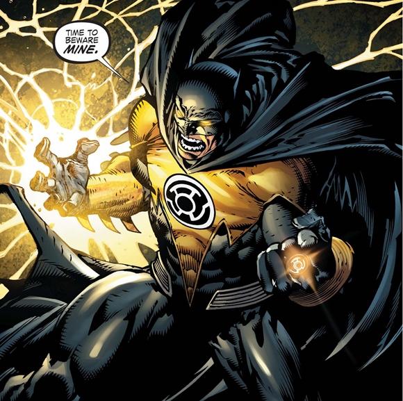 Batman ha poseído el anillo de los Sinestro Corps