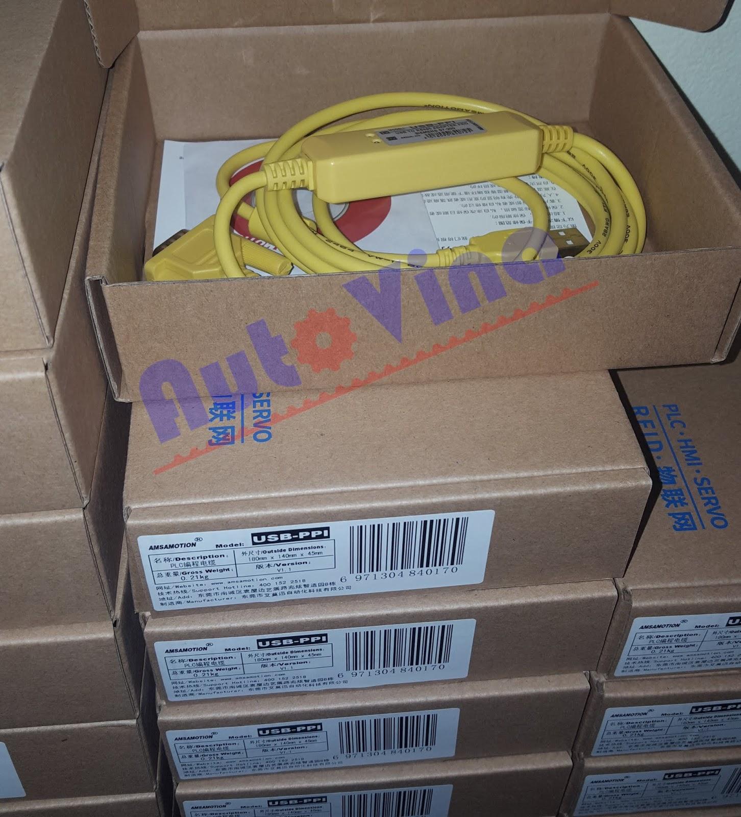 Tổng đại lý bán các loại Cable lập trình PLC Siemens USB-PPI