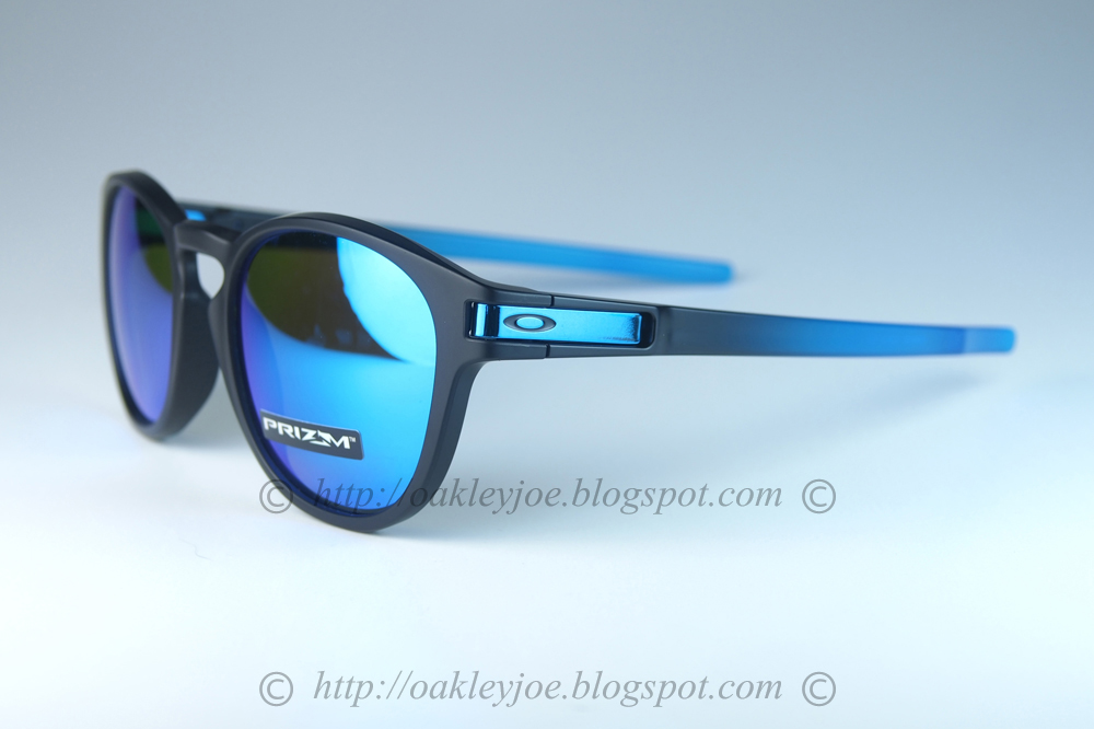 af1bd8ee28 oo9349-0953 latch asian fit sapphire fade + prizm sapphire polarized  285  lens pre coated with Oakley hydrophobic nano solution