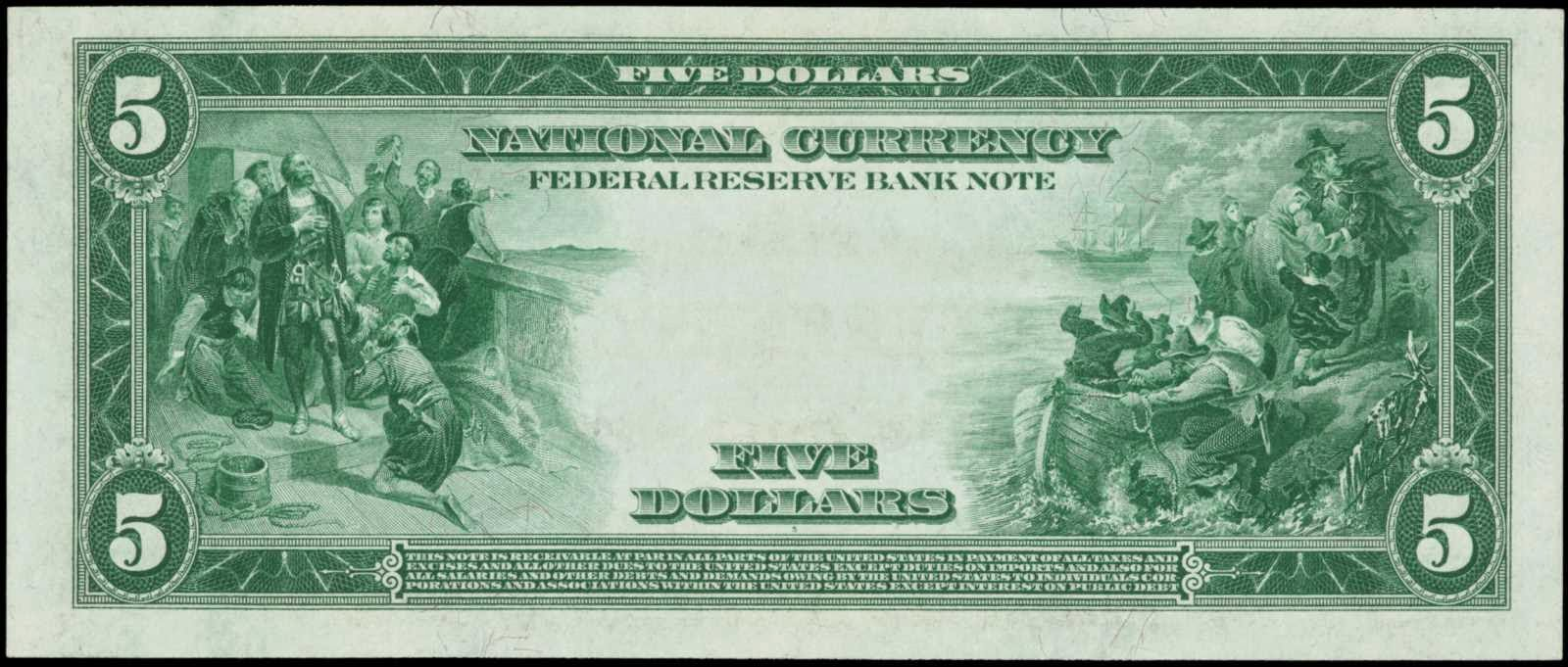 United States currency banknotes issued by National banks