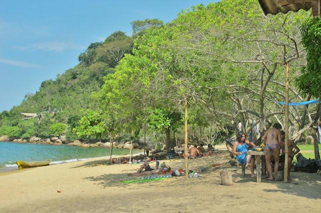 Praia de Itaoca, em Paraty