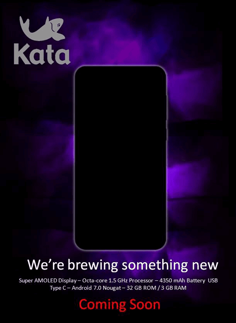 Kata Will Release A Nougat Phone With Super AMOLED And Big Battery