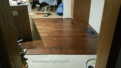 New kitchen floor wandasknottythoughts