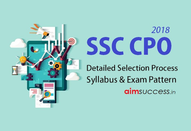 SSC CPO 2018: Selection Process, Syllabus and Exam Pattern