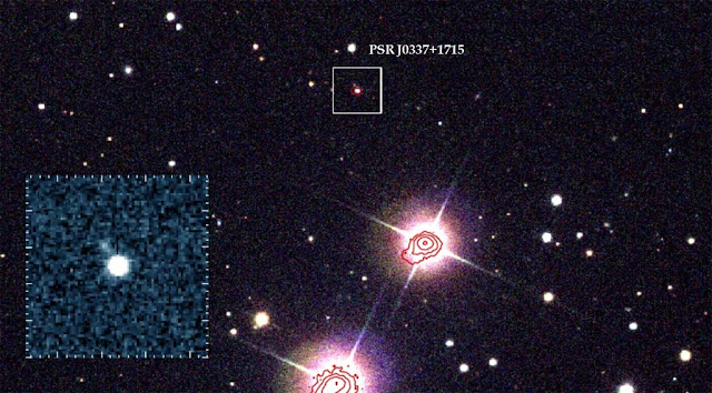Localização do pulsar PSR J0337+1715