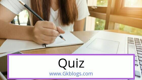 General knowledge questions and answers for quiz competition